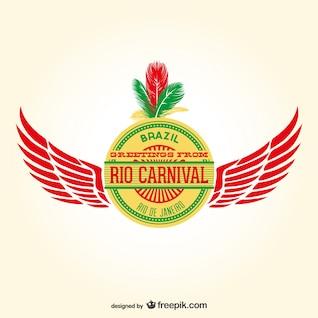 Vector carnaval de Rio