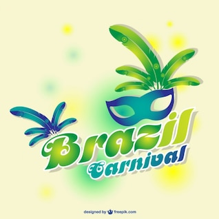 Diseño carnaval Brasil