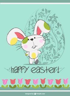 Dibujo de conejo de Pascua