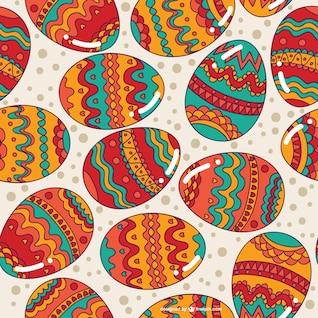 Huevos de pascua fondo continuo