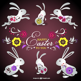 Tarjeta de Pascua gratis