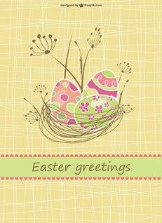 Ilustración vectorial Pascua