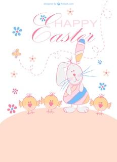 Dibujos de animales para Pascua