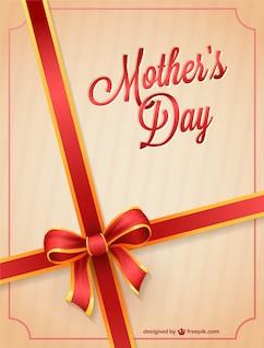 Vector de tarjeta para el día de la madre