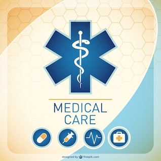 Médica ilustración de fondo