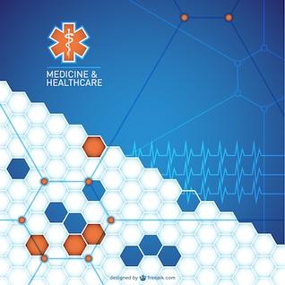 Diseño abstracto antecedentes médicos