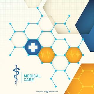 Vector abstracto médica gratuita