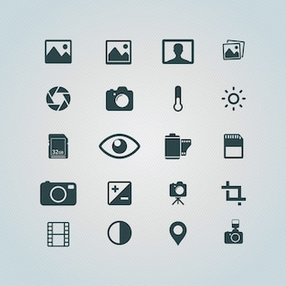Photography Iconos gratis