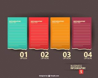 Diseño vectorial infografía libre