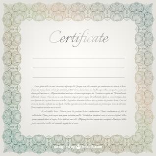 Vector certificado