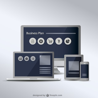 Colección de vectores gratis de pantallas