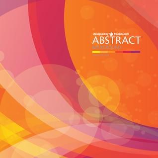Fondo abstracto con colores cálidos