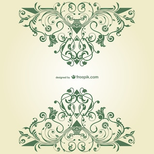 Vector ornamental vintage