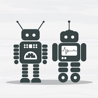 Pareja de robots