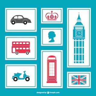 Pack de símbolos de Londres