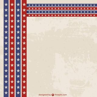 Fondo de Estados Unidos con textura