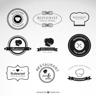 Plantillas de logotipo de restaurantes