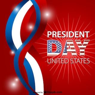 Vector de fondo de día del presidente
