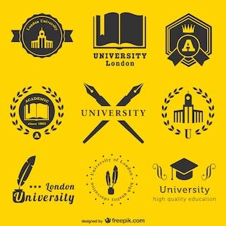 Plantilla de logos universitarios