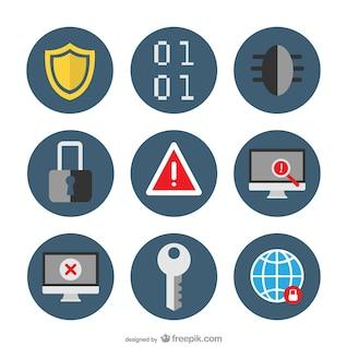 Pack de iconos de seguridad