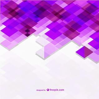 Fondo con formas violeta