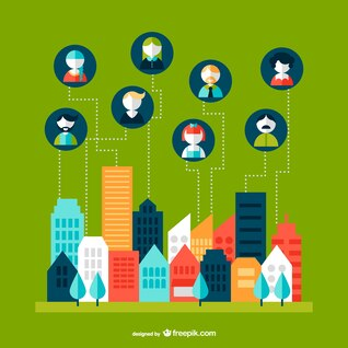 Paisaje urbano y comunicaciones
