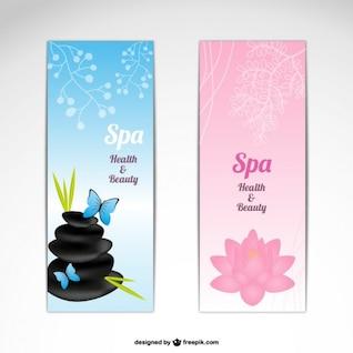 Banners piedras de spa