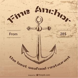 Emblema de marisquería