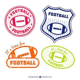 Emblemas de fútbol americano