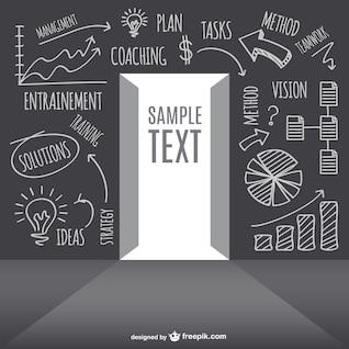 Diseño de concepto de estrategia de negocio