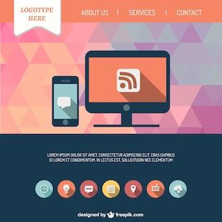 Interfaz de sitio web