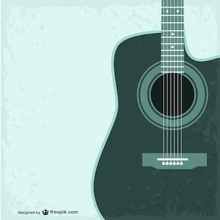 Plantilla de guitarra