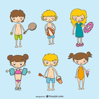 Conjunto de actividades de verano