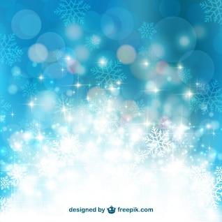 Fondo brillante de invierno