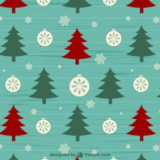 Patrón de fondo de Navidad
