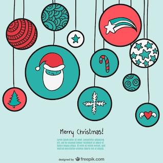 Plantilla de feliz Navidad