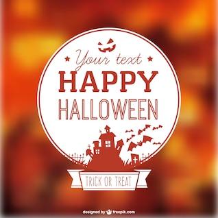 Plantilla de fondo para Halloween