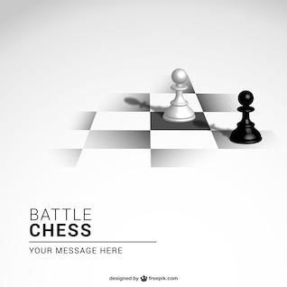 Fondo del juego de ajedrez