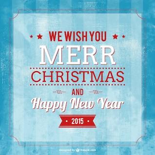 Vector tipografía de feliz Navidad