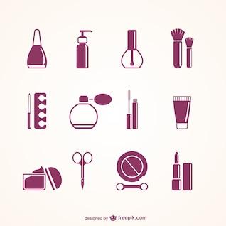 Elementos de salón de belleza