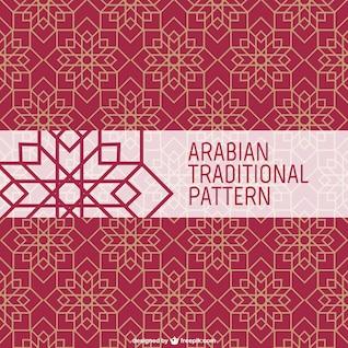 Patrón tradicional árabe