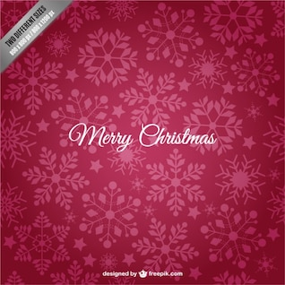 Fondo carmesí de feliz Navidad