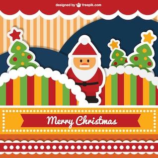 Tarjeta de Navidad simpática