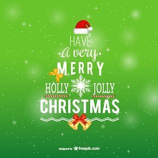Tipografía Feliz Navidad