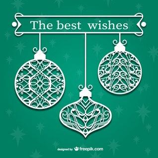Bolas de Navidad ornamentales