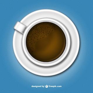 Vector de taza de café