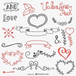 Recursos caligráficos para el día de San Valentín