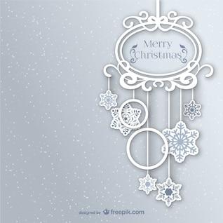 Ornamento de Navidad estilo vintage