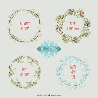 Guirnaldas vintage de Navidad
