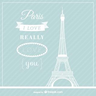 Amor del vector de París